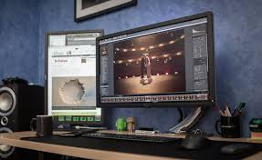 30 Coolest And Inspiring Multi Monitor Gaming Setups by I Replaced My Dual Screen Editing Setup With A 34 Inch 3440x1440
