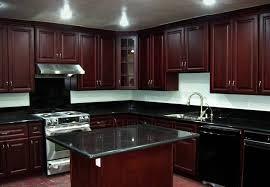 Black Countertop Kitchen Dark Kitchen Cabinets With Black Countertops Everdayentropy Com