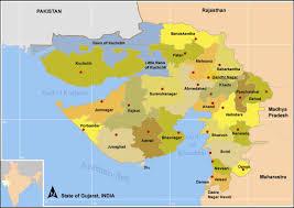 Gujarat India Map by Topographic Map Of Gujarat U2022 Mapsof Net
