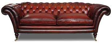 Chesterfield Leather Sofa by Victorian Leather Chesterfield 3 Seat Sofa In Hand Dyed Hide