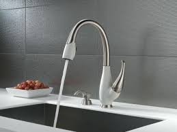 delta touch kitchen faucets delta touchless kitchen faucet mydts520