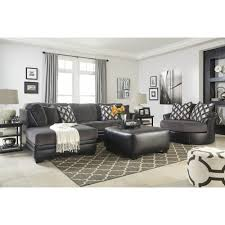 ashley furniture kumasi sectional in smoke space saving