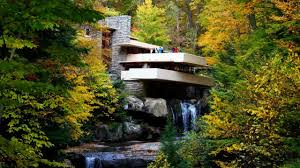 frank lloyd wright waterfall fallingwater house over waterfall frank lloyd wright youtube