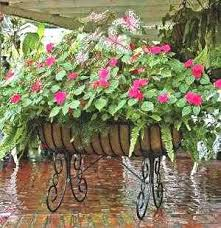 cradle planter with coco liner affordable wrought iron window