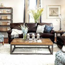 coffee table for long couch brown sofa living room ideas leather couches coffee table with couch