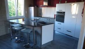 cuisine thionville cuisine orange et grise 9 cuisine am233nag233e