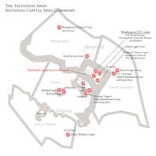 Alexandria Zip Code Map by Contact Us The Salvation Army National Capital Area Command