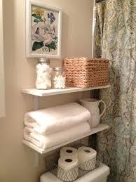Bathroom Shelving Unit by Glass Bath Shelves Full Image For Storage Shelf With Rattan