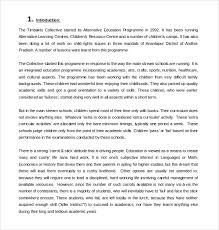 sample art proposal template 8 free documents in pdf word