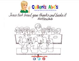 Bible Key Point Coloring Page Last Supper Online Preschool And Last Supper Coloring Page