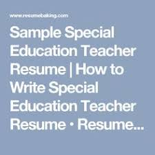 Special Education Teacher Job Description Resume by Special Education Cover Letter Sample Cover Letter Sample