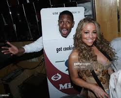 2008 halloween party at marquee hosted mariah carey and nick