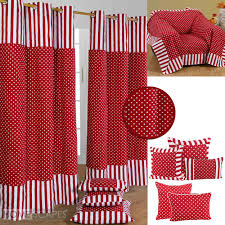 Red Polka Dot Curtains Red And White Polka Dot Curtains Instacurtains Us