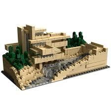 lego architecture fallingwater model kit lego architecture