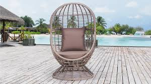 Outdoor Swivel Chair by Coogee Outdoor Swivel Egg Chair Lavita Furniture