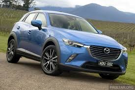 mazda account mazda cx 3 goes on sale in thailand from rm102k