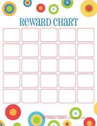 printable homework incentive charts training chart reward chart all four of these portrait orientation