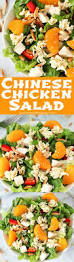 chinese chicken salad with easy homemade dressing yummy healthy easy