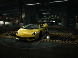 speed of lamborghini gallardo speed lamborghini gallardo spyder garage nfs wallpaper