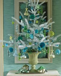 silver and gold tree theme diy decorations martha stewart