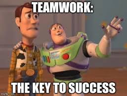 Teamwork Memes - x x everywhere meme imgflip