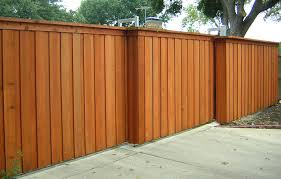 exterior good looking light oak timber wooden fence gate as