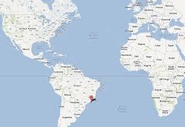 de janeiro on the world map de janeiro map