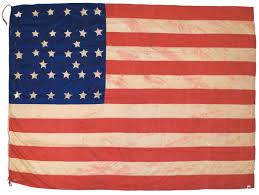 Union Of The Flag Rare Flags Antique American Flags Historic American Flags