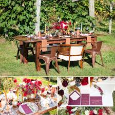 Fall Backyard Party Ideas by Fall Wedding Ideas Copper Merlot Fall Wedding The Jdk