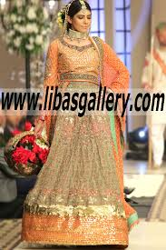 Wedding Dresses Online Shopping Hussayn Wedding Dresses Pakistan Designer Lehenga Bridal