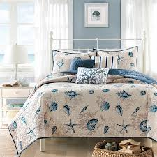 Coastal Quilts Santa Catalina Coastal Seashell Quilt Bedding King M05 Msexta