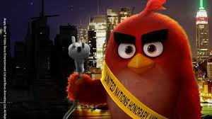 red angry birds character named ambassador climate change