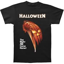 amazon com halloween night he came home t shirt clothing