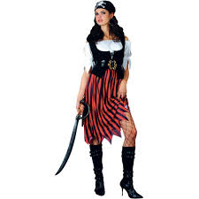 Halloween Costume Sale Uk Pirate Lady Womens Fancy Dress Costume Large Amazon Co Uk Toys