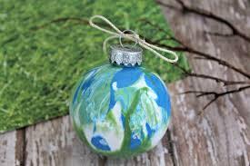 earth day craft idea create a globe ornament happy mothering
