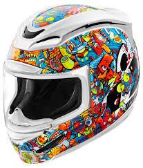 black and gold motorcycle jacket icon airmada doodle helmet revzilla