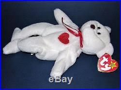ty valentino ty valentino beanie baby retired with 17 errors beanie