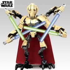 22cm star wars lightsaber robot general grievous clone war