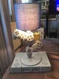 playstation 1 into a lamp video game fun pinterest gaming