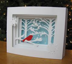 3d christmas cards 3d cards make a pretty impressive gift paper and musings
