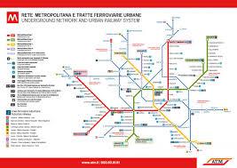 Metro Map Pdf by Transportation Esn Iulm Milano