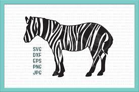 zebra svg patterned zebra svg zebra p design bundles