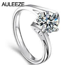 White Gold Wedding Rings For Women by Simulated Diamond Engagement Rings In White Gold Promotion Shop