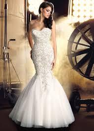bling wedding dresses strapless mermaid wedding dresses with bling brides dresses
