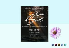 church flyers 45 free psd ai vector eps format download