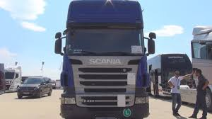 scania r 420 tractor truck 2011 exterior and interior youtube