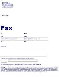 blank fax cover page free fax cover sheet template printable