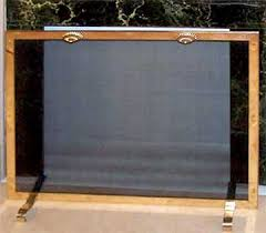 Free Standing Fireplace Screens by Specials From Antiqueandirons Com