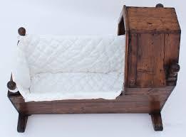 victorian pine baby rocking crib cot moses basket antiques atlas