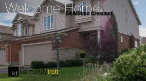 homes for sale in guelph 54 milson crescent youtube